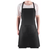 Load image into Gallery viewer, Adult Unisex Black Apron