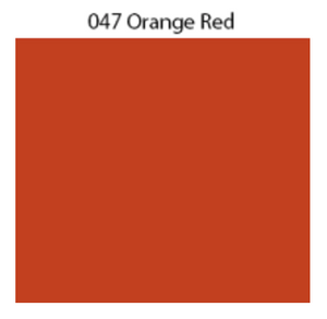 Solid Decal Oracal 651 12 X / Orange Red Decal