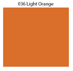 Solid Decal Oracal 651 12 X / Light Orange Decal