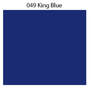 Solid Decal Oracal 651 12 X / King Blue Decal