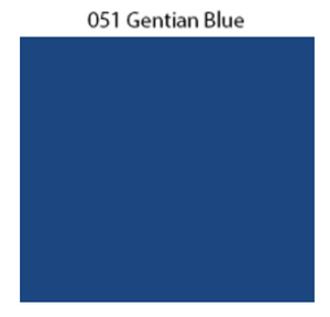 Solid Decal Oracal 651 12 X / Gentian Blue Decal