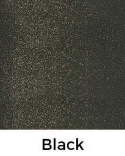 Black Glitter Decal 12 X Decal