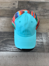 Load image into Gallery viewer, Zarape Cap Teal