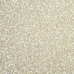 "Silver Gold Glitter HTV 12"" x 19.5"" Sheet - Heat Transfer Vinyl"