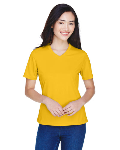 ALL OTHER COLORS Team 365 Ladies' Zone Performance V-Neck T-Shirt 100% Polyester DriFit
