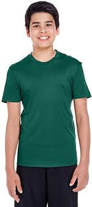 ALL OTHER COLORS Team 365 Youth Zone Performance T-Shirt 100% Polyester DriFit