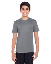 Load image into Gallery viewer, BASIC COLORS Team 365 Youth Zone Performance T-Shirt 100% Polyester DriFit