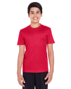 BASIC COLORS Team 365 Youth Zone Performance T-Shirt 100% Polyester DriFit