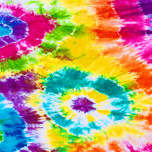 Tie Dye Multi Pattern Decal 12