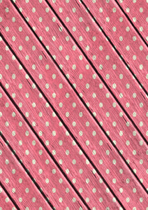 "12"" x 17 Dots on Pink Wood Valentine's Day Pattern HTV Sheet Heat Transfer Vinyl Iron on Valentine12"