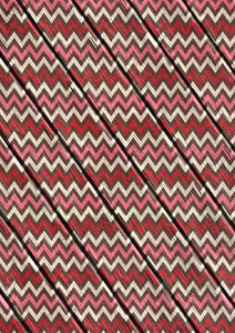 "12"" x 17  Chevron on Wood Valentine's Day Pattern HTV Sheet Heat Transfer Vinyl Iron on Valentine9"