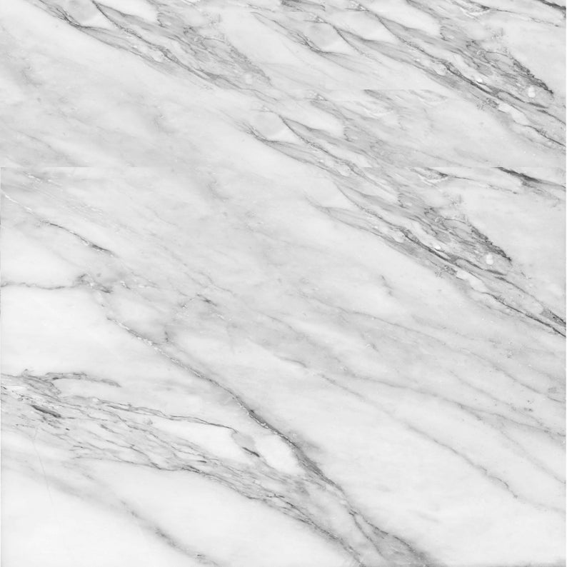 White Marble Pattern Decal 12