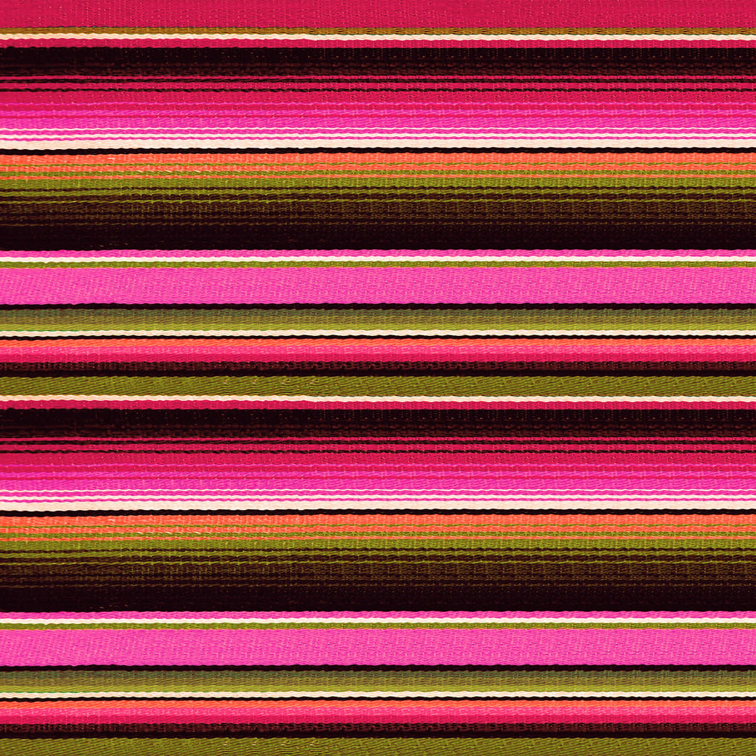 Pink Orange Zarape Serape Pattern Decal 12