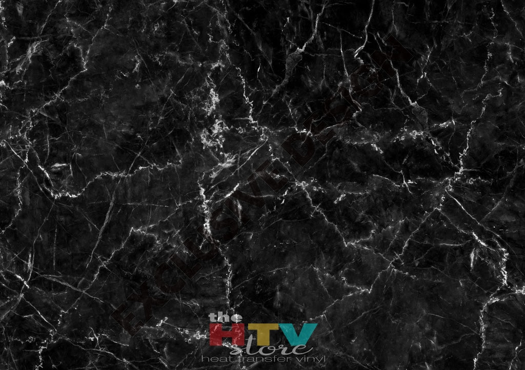 Black Marble Photo Htv 12 X 17 Itv