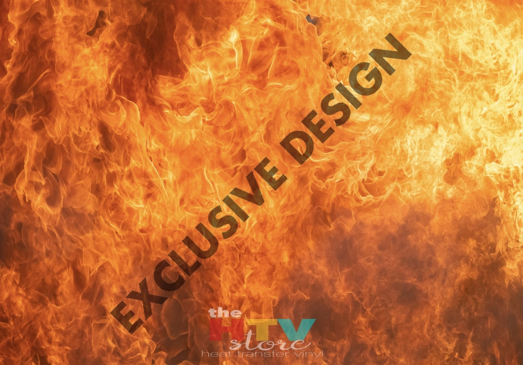 Fire Photo Htv 12 X 17