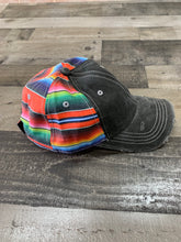 Load image into Gallery viewer, Zarape Cap Black Denim