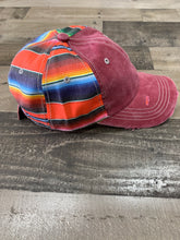 Load image into Gallery viewer, Zarape Cap Maroon