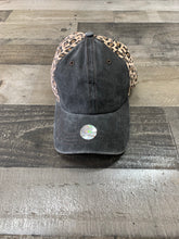 Load image into Gallery viewer, Cheetah with Black Denim Cap
