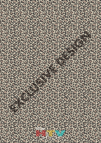 Leopard 3 Pattern Htv 12 X 17 Sheet