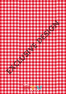 Red Gingham Pattern Htv 12 X 17 Sheet