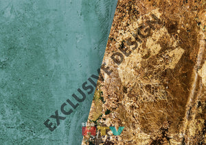 Turquoise Brown Stone Photo Htv 12 X 17