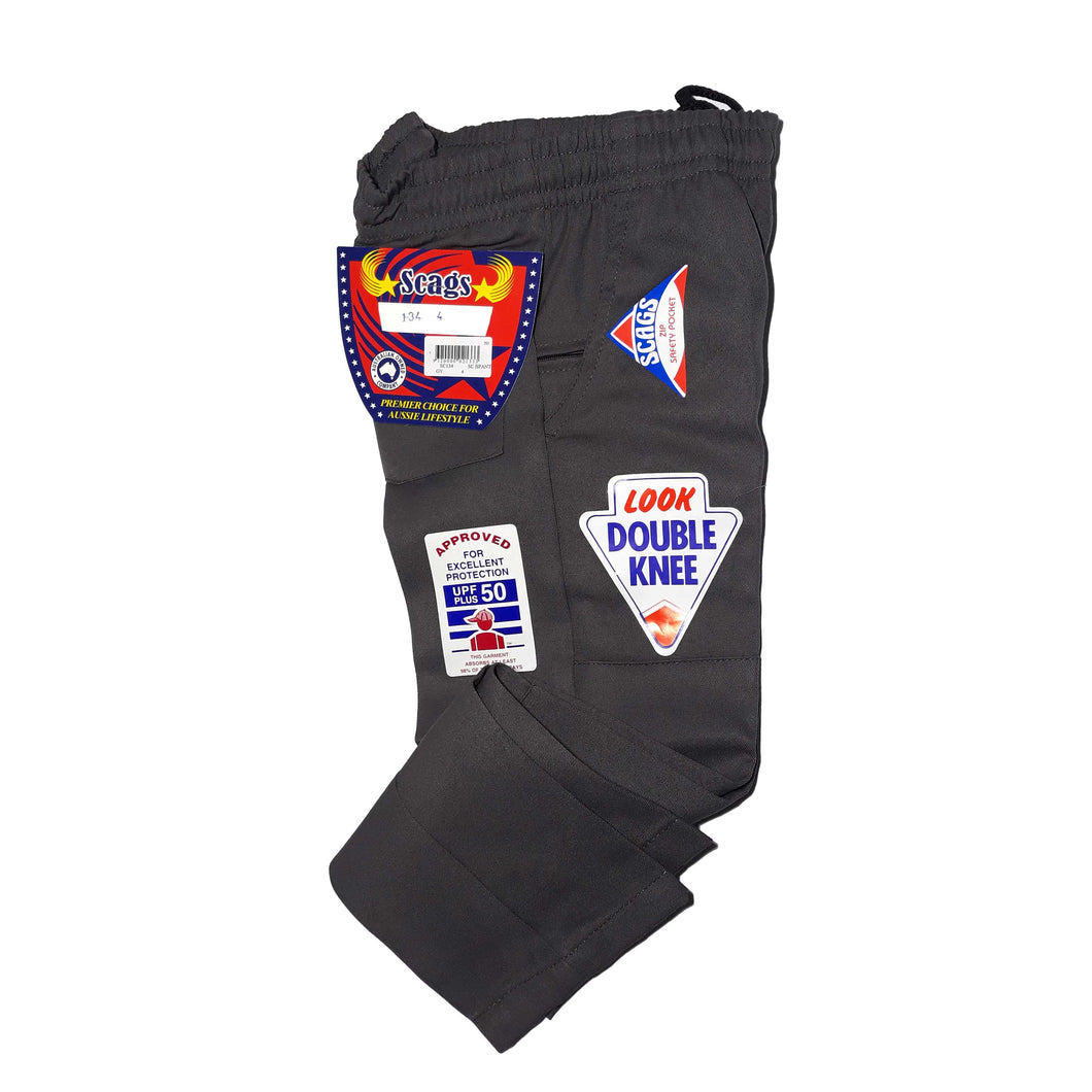 Scags Boys Pant Double Knee