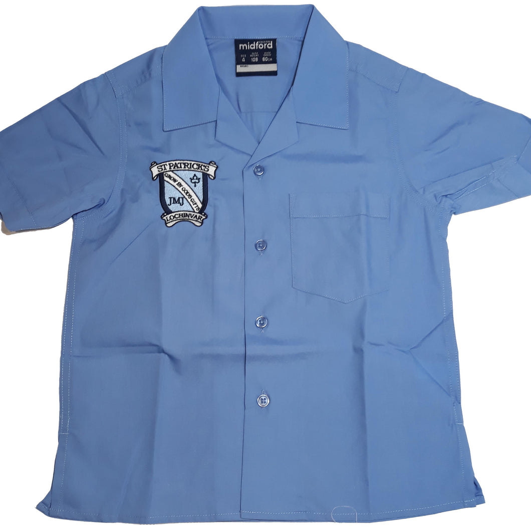 St Patrick's Lochinvar Boys Embroidered S/S Shirt