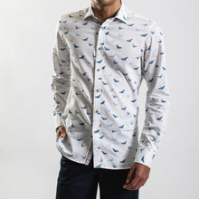 Load image into Gallery viewer, James Harper Butterfly Swarm Long Sleeve