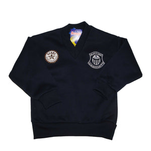 Scags V-neck Fleece Pullover, Our Lady of Lourdes
