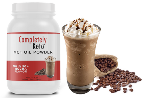 1 Tub of Completely Keto™ Mocha MCT Oil Powder