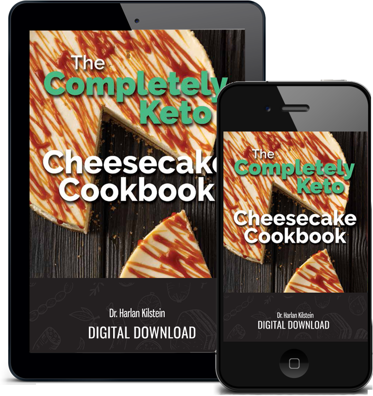 Completely Keto Cheesecake Cookbook - Digital Edition