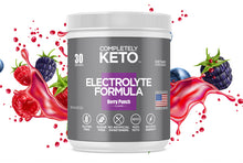 Load image into Gallery viewer, 1 Tub of Completely Keto™ Electrolytes Formula (Berry Punch Flavor)