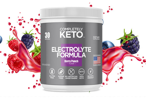 1 Tub of Completely Keto™ Electrolytes Formula (Berry Punch Flavor)
