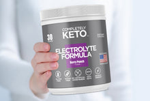 Load image into Gallery viewer, RKS 1 Tub of Completely Keto™ Electrolytes Formula (Berry Punch Flavor)