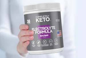 RKS 1 Tub of Completely Keto™ Electrolytes Formula (Berry Punch Flavor)