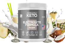Load image into Gallery viewer, Completely Keto™ Electrolytes Formula (Pina Colada Flavor) Buy 3 Tubs & Get 2 Tubs Free!
