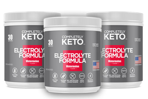 3 Tubs of Completely Keto™ Electrolytes Formula (Watermelon)