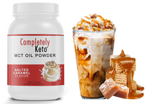 Load image into Gallery viewer, 1 Tub of Completely Keto™ Salted Caramel MCT Oil Powder
