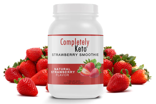 Completely Keto™  Strawberry Smoothie (25 Servings)