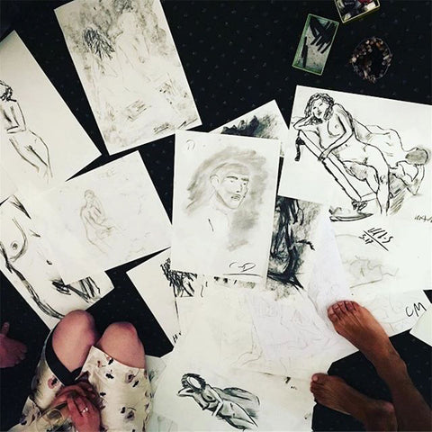 Life Drawing In Your Living Room, Private Party
