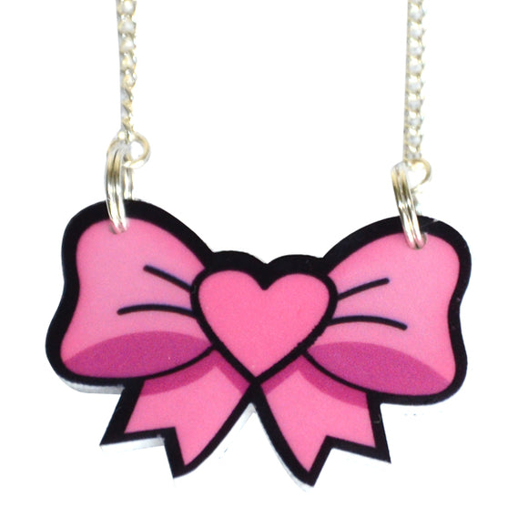 Pretty Bow Necklace
