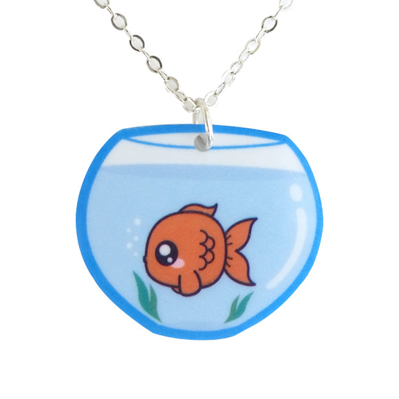 Goldfish Bowl Necklace