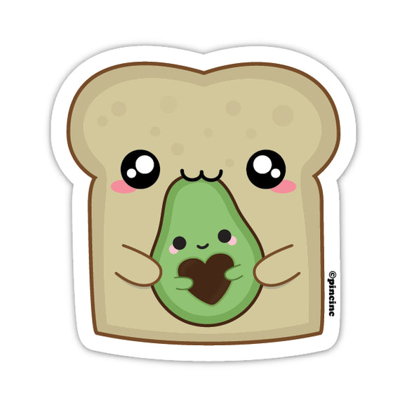 Avo on Toast Sticker