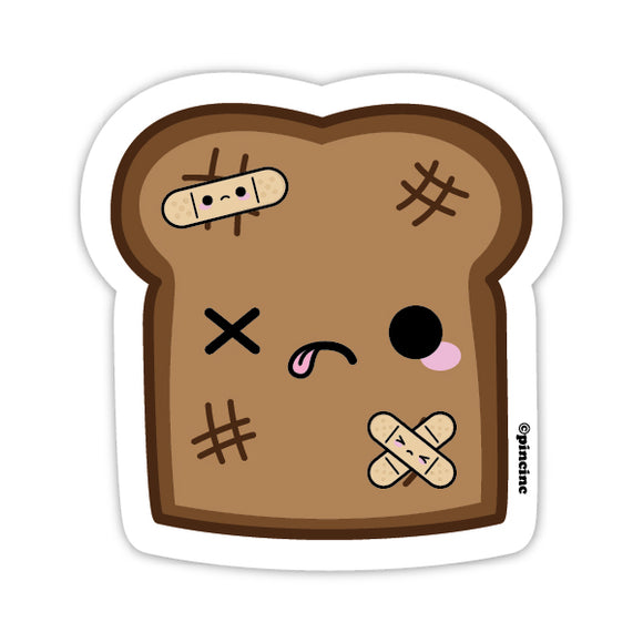 Burnt Toast Sticker