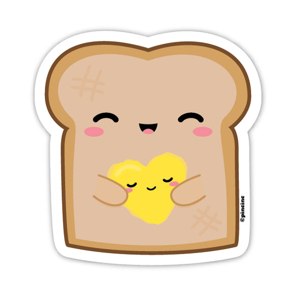 Buttered Bread Sticker