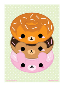 Donut Animals A4 Print