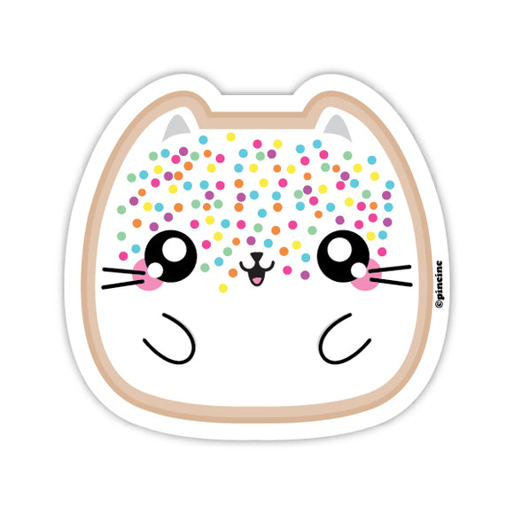 Fairy Bread Cat Sticker
