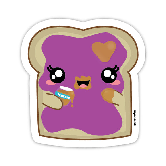 Jelly Toast Sticker