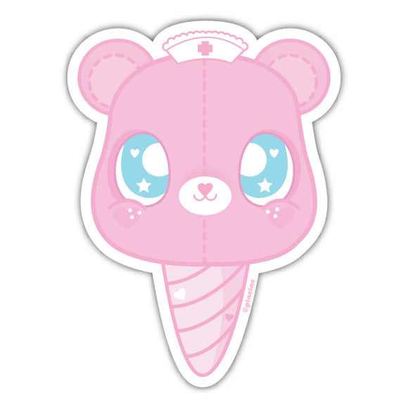 Medical Bear Sticker