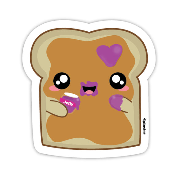Peanut Butter Toast Sticker